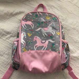 Pottery barn pre-k girl backpack